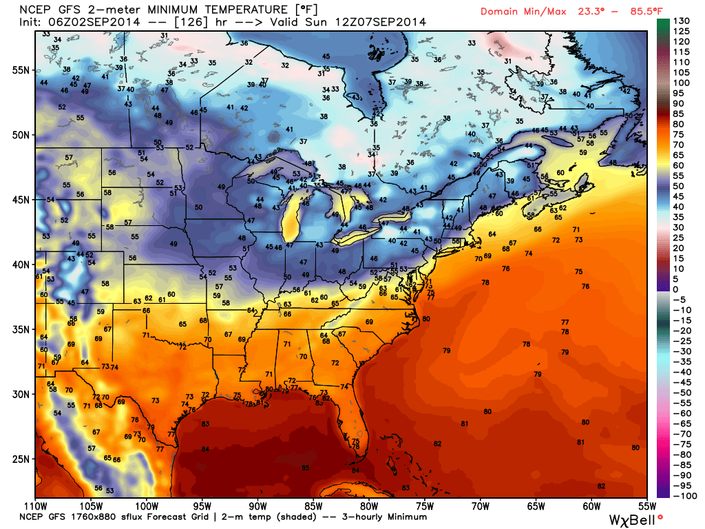 Are you craving cooler air to go along with that early season pumpkin spice latte? You'll be in luck this weekend as a true fall-like air mass invades...