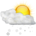 Status-weather-snow-scattered-day-icon